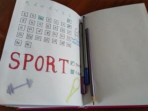 Je doelen tracken in je bullet journal