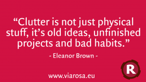 Quote6 Clutter is more